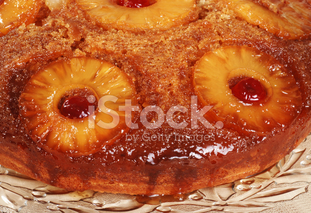 Glazed Pineapple Fruit Cake