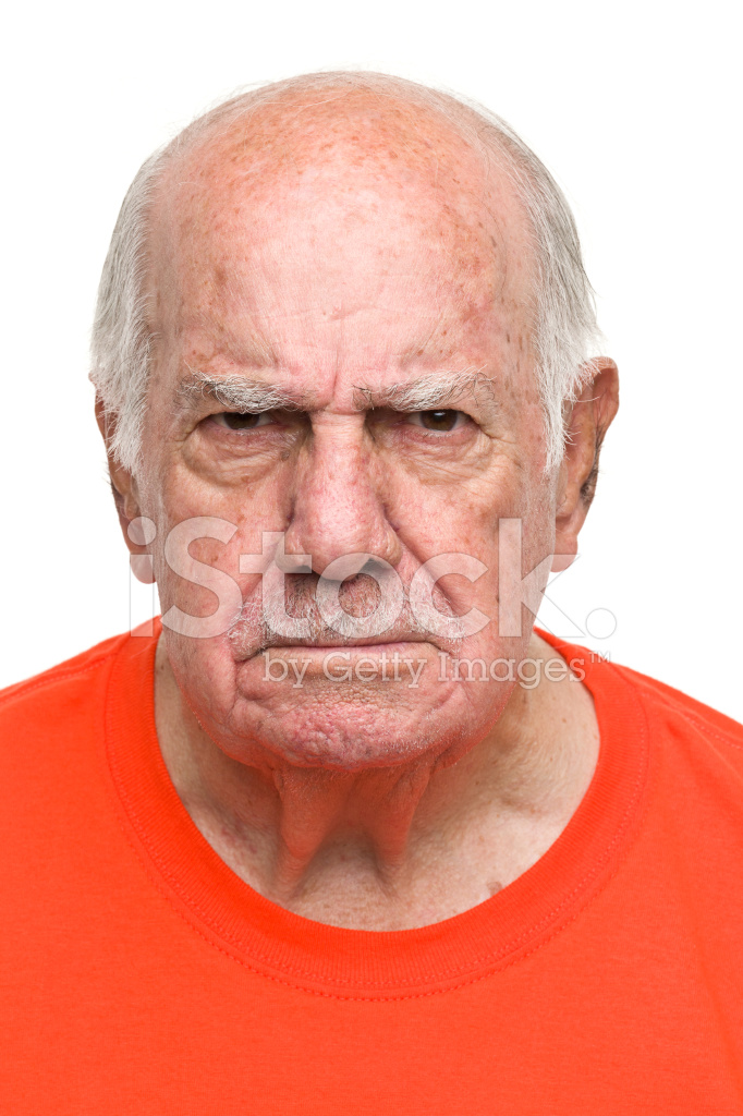 Angry Grandpa Stock Photos Freeimages Com