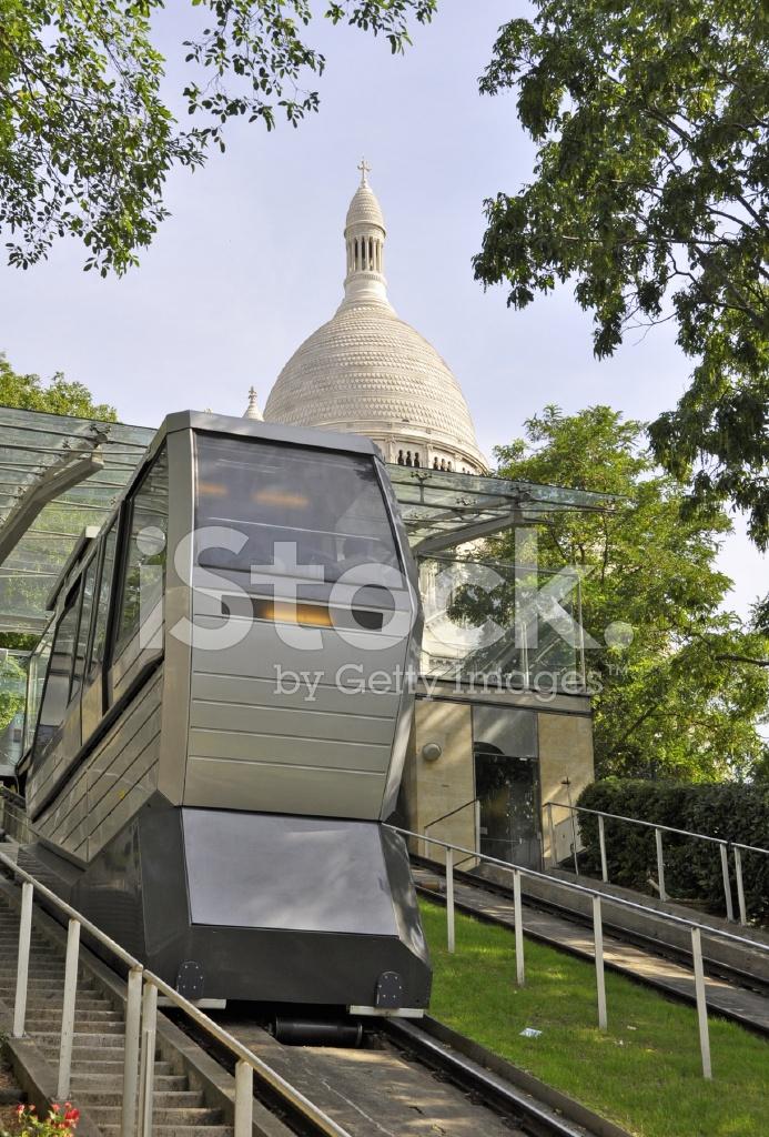 Montmartre Funicular Stock Photos Freeimages Com