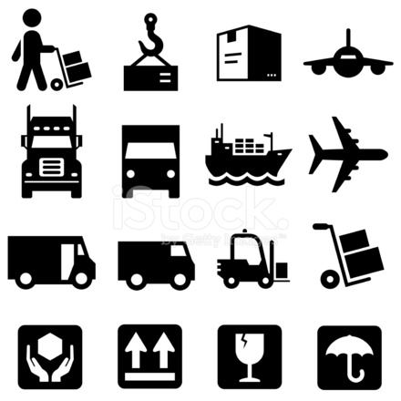 Shipping Icons Black Series 1398787 on industrial cleaning cartoon