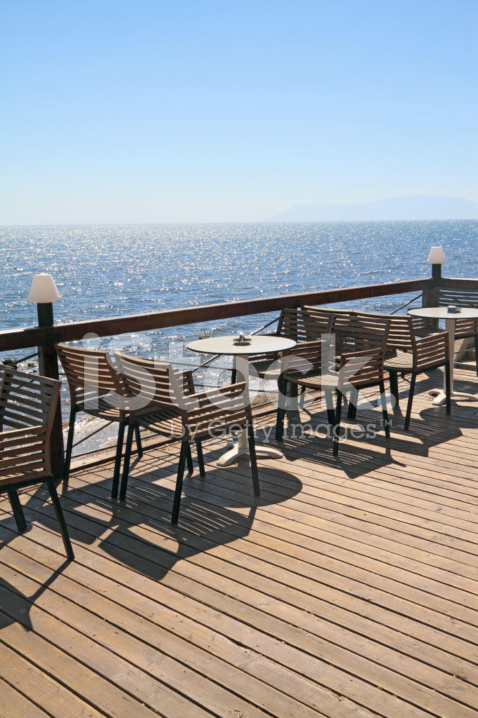 Idyllic Cafe By The Sea Stock Photos Freeimages Com