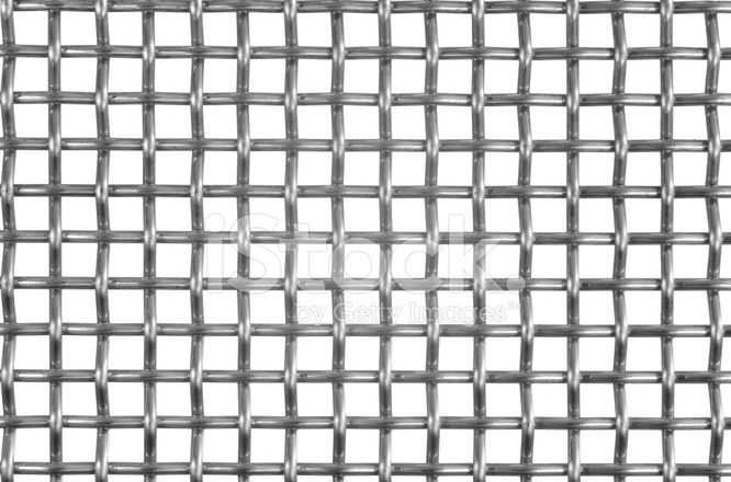 Wire Grating Isolated on White AS Background Stock Photos ...