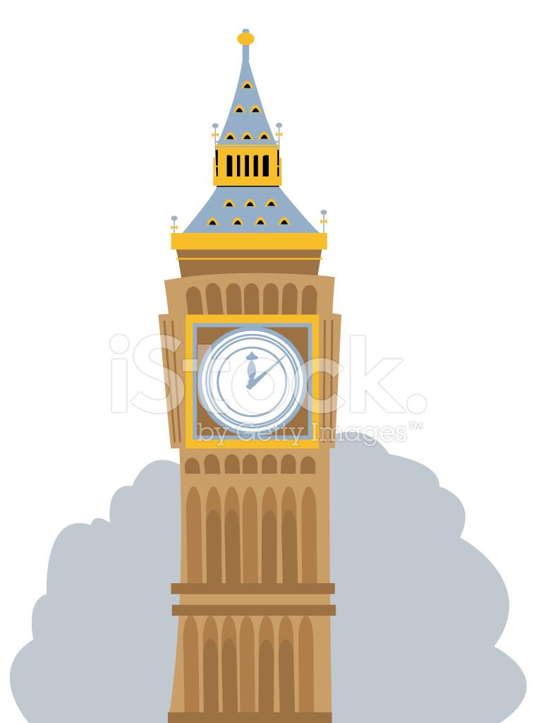 Big Ben Cartoon stock photos - FreeImages.com
