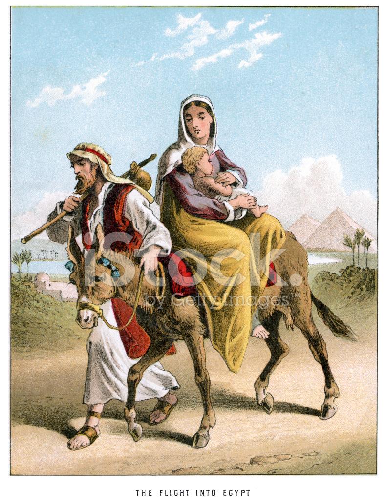 Joseph and Mary's Flight Into Egypt stock photos - FreeImages.com