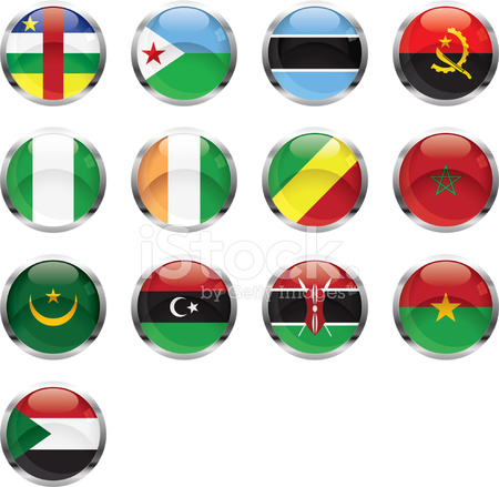 African Flags Stock Vector - FreeImages com