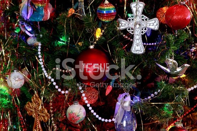 premium stock photo of religious christmas ornaments