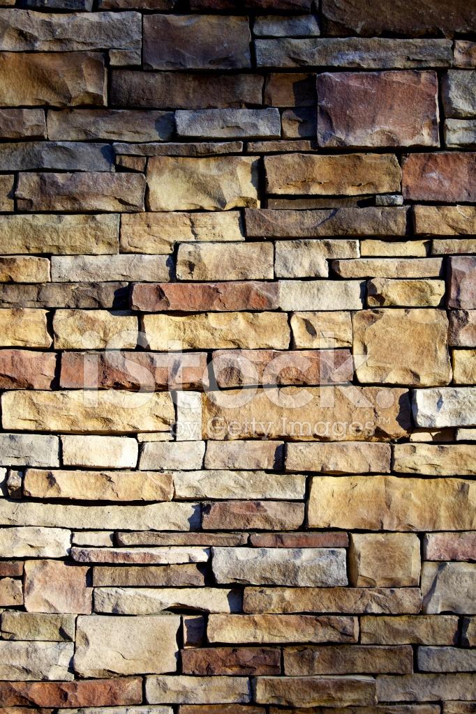 Naturstein Wand Detail