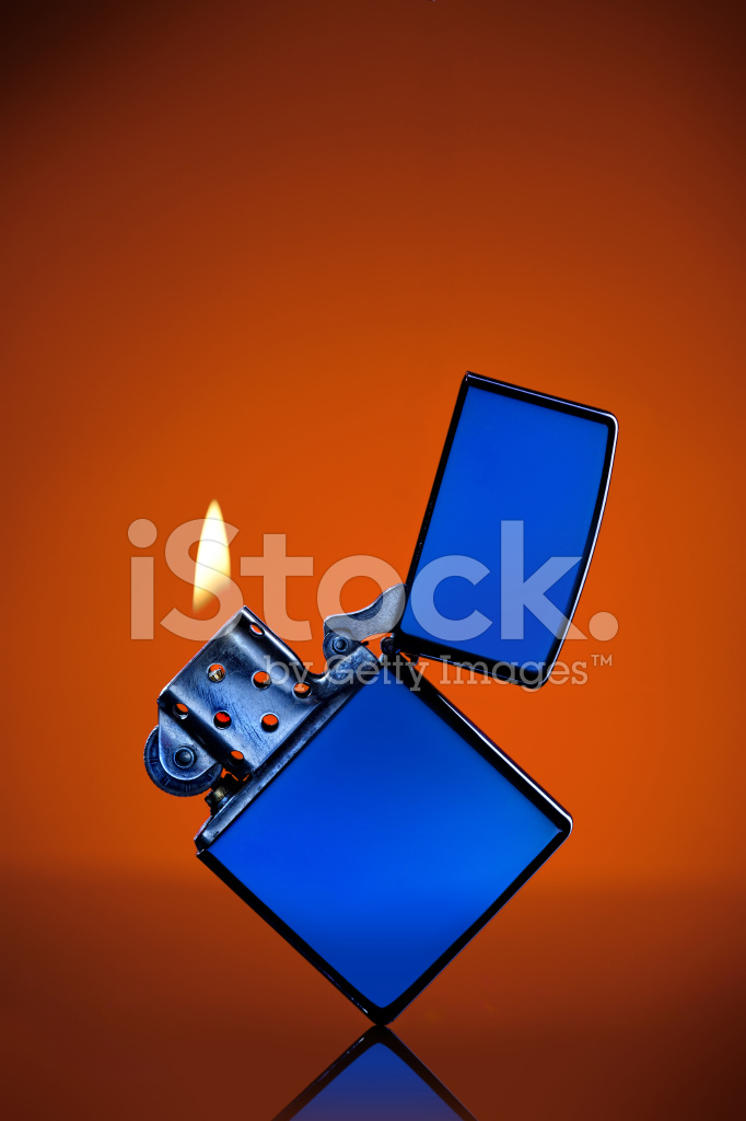 Sfondo blu fiamma