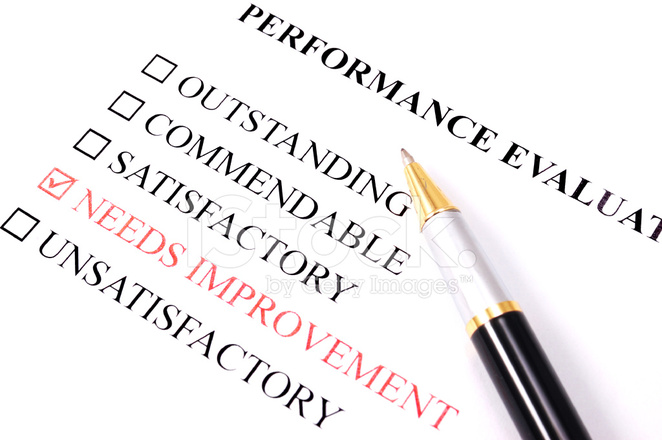 Performance Employee Evaluation Form Needs Improvement