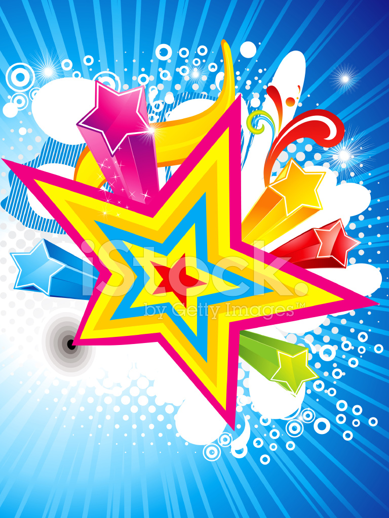 Звезды поздравляют открытка