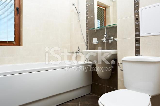 Salle DE Bains Moderne En Couleur Marron Photos - FreeImages.com