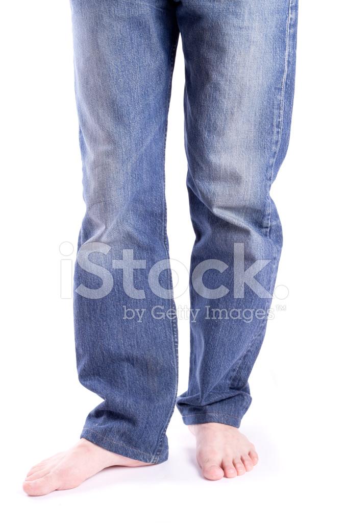 赤脚男人的脚 照片素材