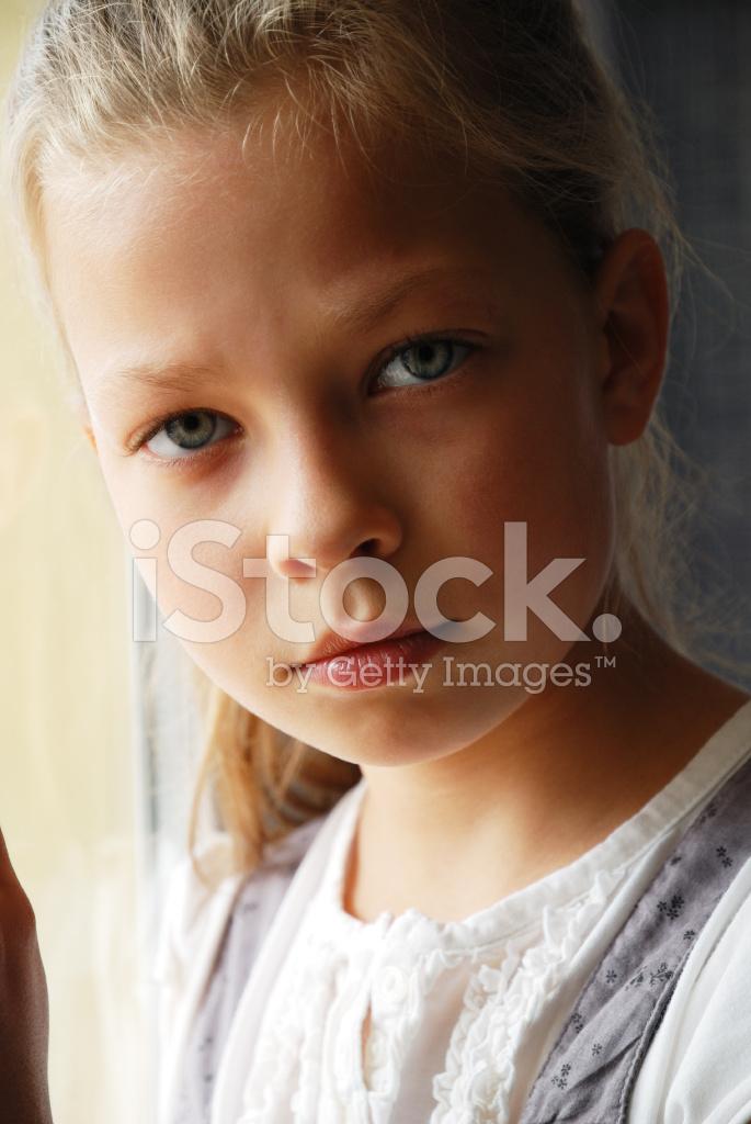 Close Up Of Sad Preteen Stock Photos - Freeimagescom-2913