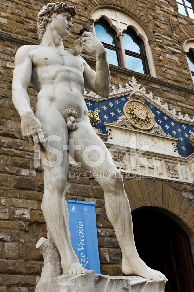 米开朗基罗的大卫雕像