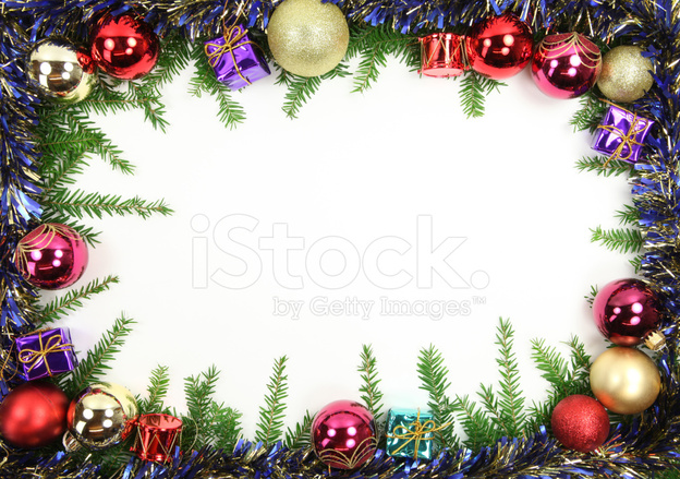 White And Blue Christmas Trees