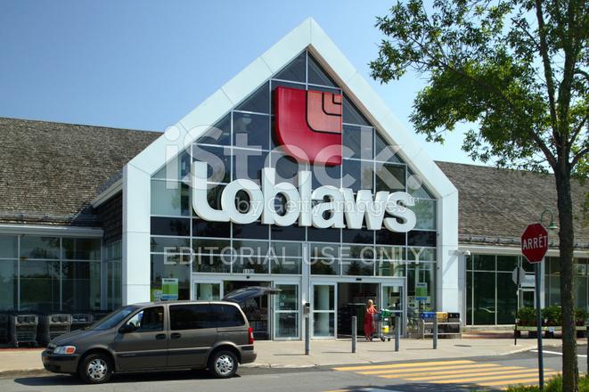 Loblaws Grocery Store Facade Stock Photos Freeimages Com