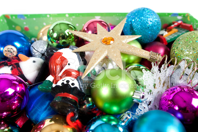 Assorted Christmas Ornaments - Assorted Christmas Ornaments Stock Photos - FreeImages.com