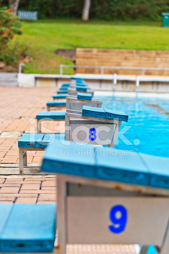 Swimming Pool Starting Blocks Stock Photos - FreeImages.com
