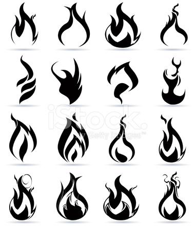 火焰素材图片白底