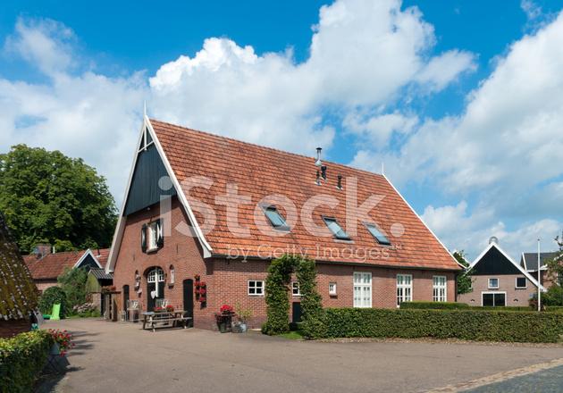 Dutch farmhouse stock photos for Farm house netherlands