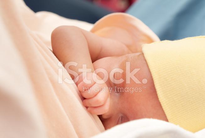 Baby foot amning