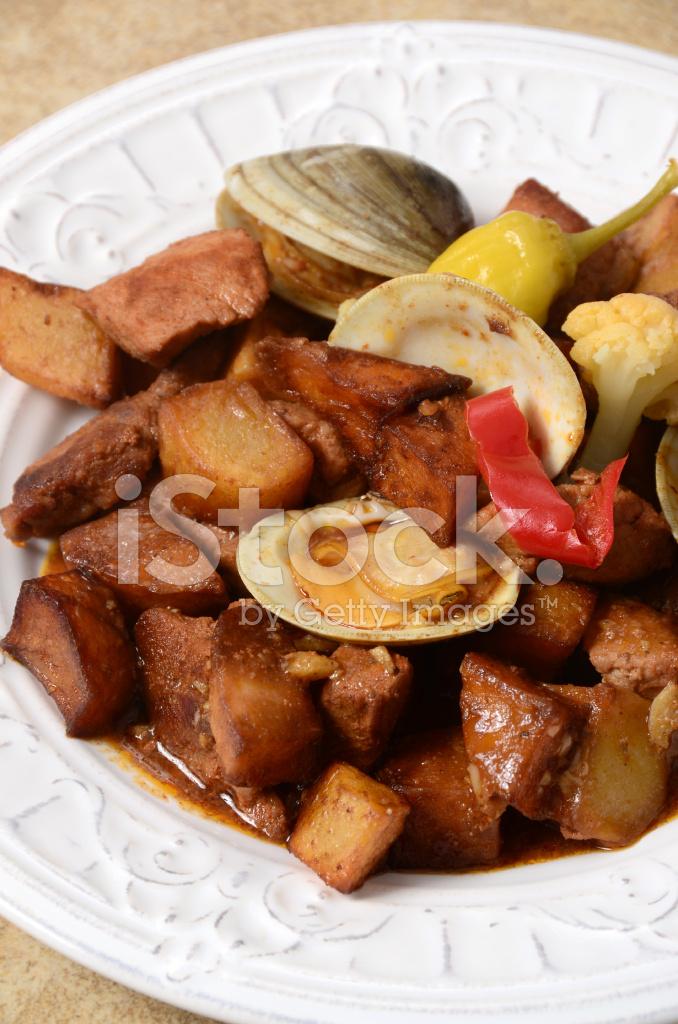 Carne DE Porco A Alentejana stock photos - FreeImages.com