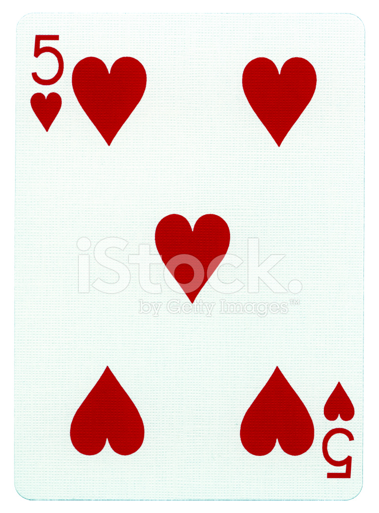 Playing Cards Heart Design