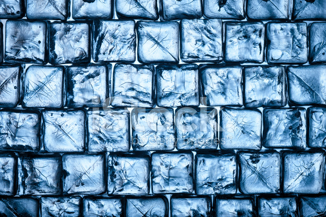 Ice Cubes Wall Water Frozen Cold Fresh Stock Photos