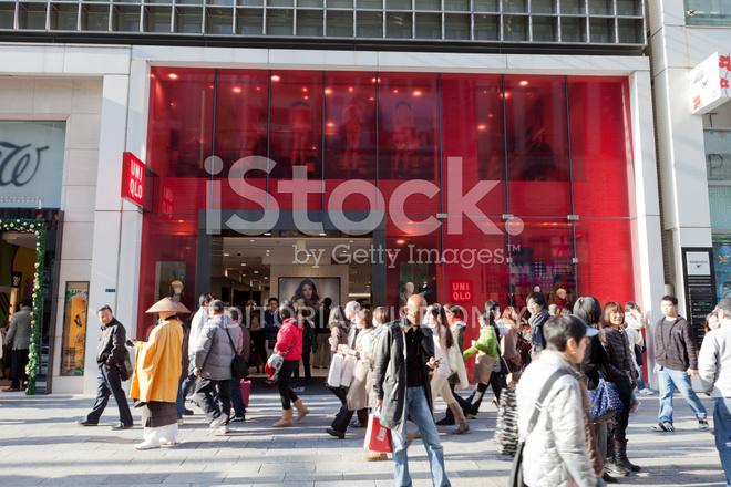 premium stock photo of uniqlo store in tokyo japan