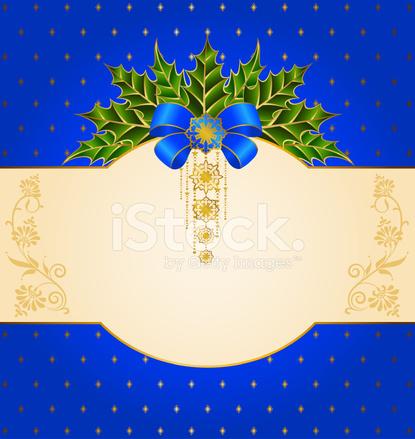 Beautiful Christmas Background Design.Beautiful Christmas Background With Vector Stock Vector