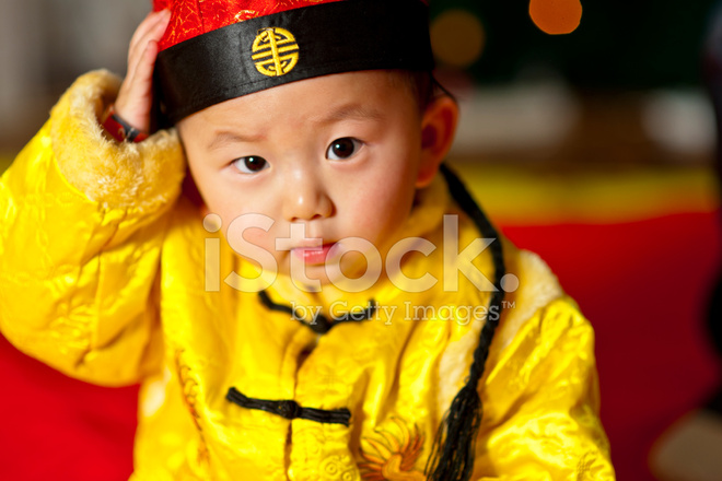 92a3a6ab8 Baby Boy IN Traditional Chinese Dress Stock Photos - FreeImages.com
