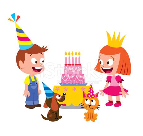 barn födelsedag Födelsedag Barn Stock Vector   FreeImages.com barn födelsedag