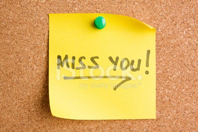 werde dich vermissen