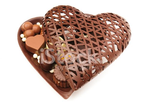Valentinstag Pralinen Stockfotos Freeimages Com