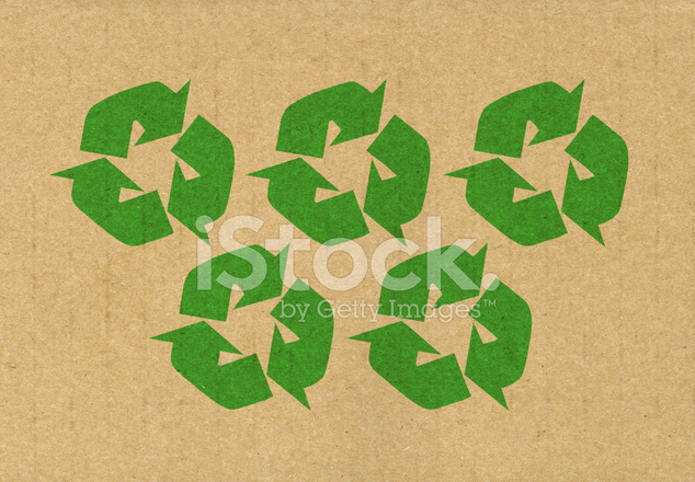 Five Recycling Symbols Stock Photos Freeimages