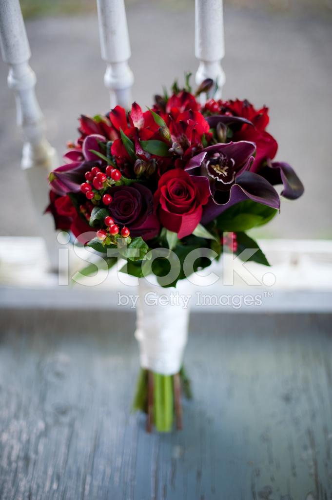 Bouquet Sposa Rosso.Bouquet Sposa Rosso Fotografie Stock Freeimages Com