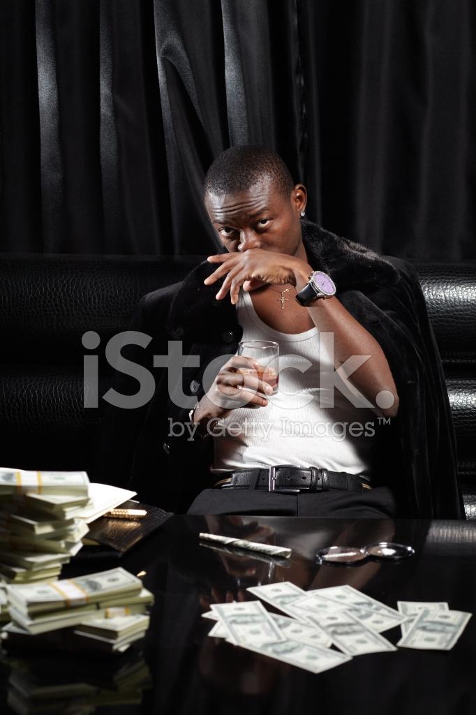 Young black drug dealer stereotype