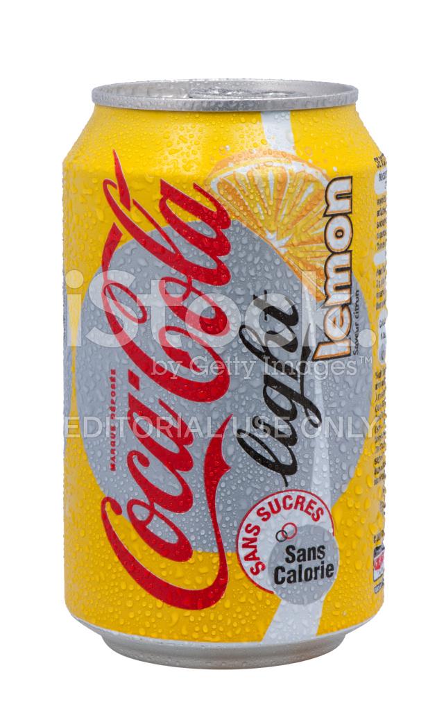 lata de coca cola light do limão fotos do acervo - freeimages