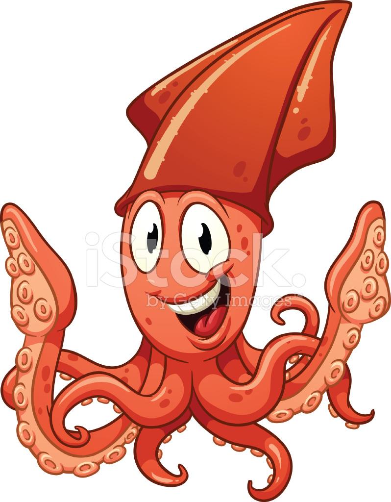 Веселые кальмары картинки