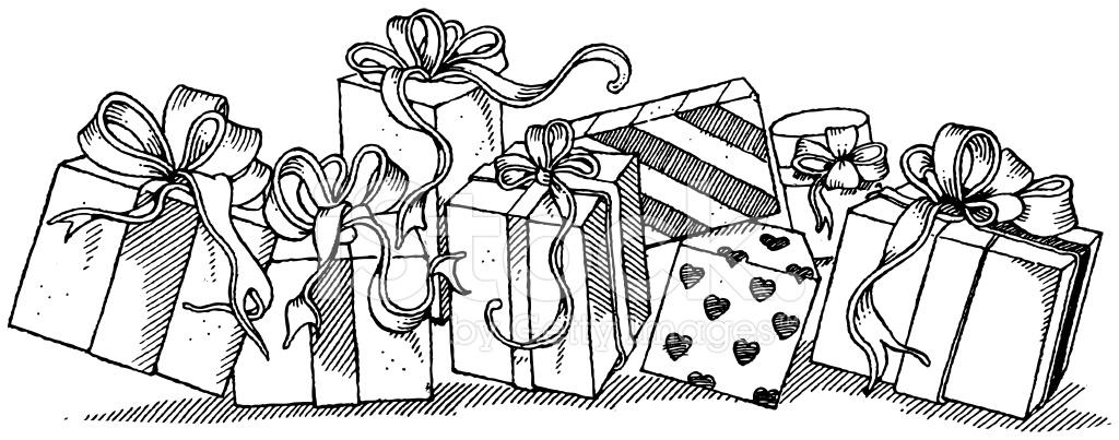 Подарок рисунок графика 26