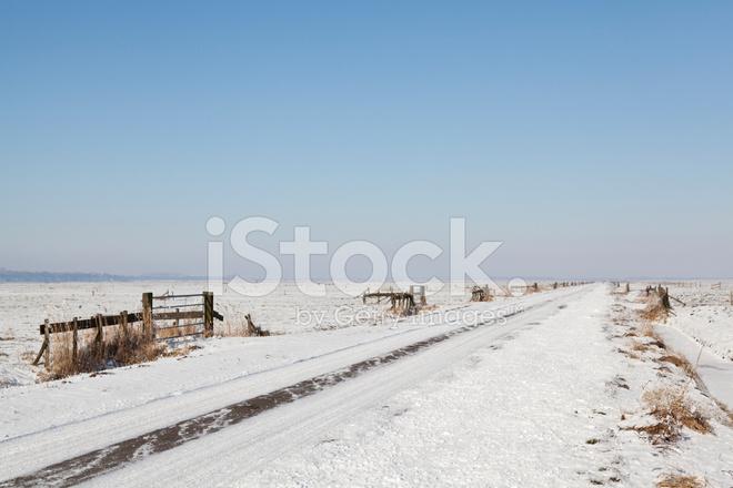 네덜란드 겨울 풍경 스톡 사진 - FreeImages.com