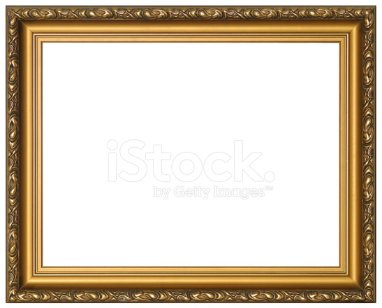 Gilded Empty Picture Frame Stock Photos - FreeImages.com