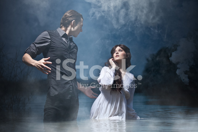 Hades & Persephone: The Encounter Stock Photos