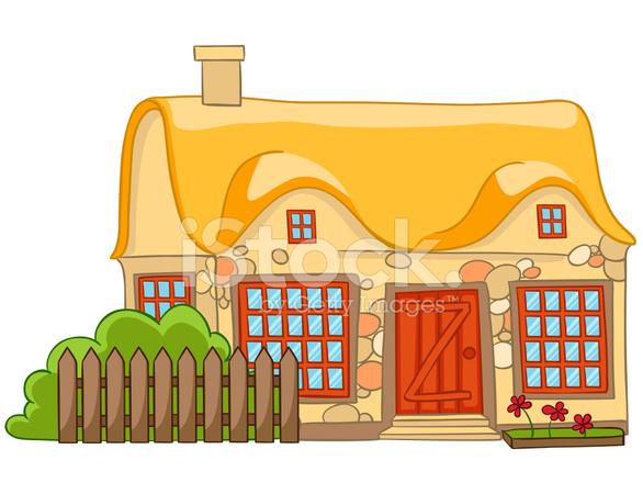 Casa di cartone animato stock vector - Casa di cartone ...