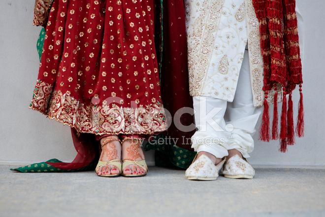 Indian Wedding Couple Feet Close Up Stock Photos Freeimagescom