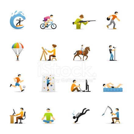 iconos de colores hobbies fotograf u00edas de stock running shoe clipart free running girl clipart free