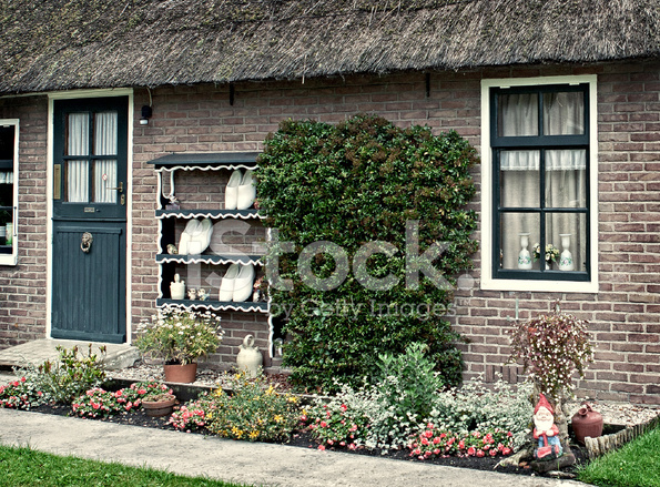 Traditional dutch house stock photos for Classic dutch house of 60m2