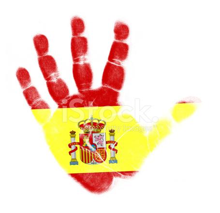 palm drapeau espagne imprimer isol - Drapeau Espagnol A Imprimer