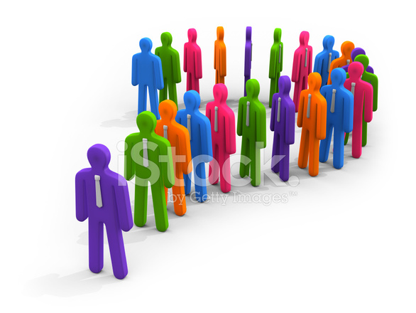 Colorful figures in queue forming question mark symbol stock photos colorful figures in queue forming question mark symbol ccuart Images