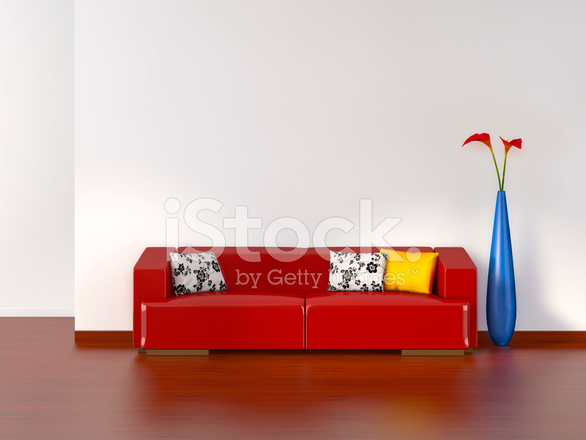 Lege Woonkamer Met Sofa Stockfoto\'s - FreeImages.com